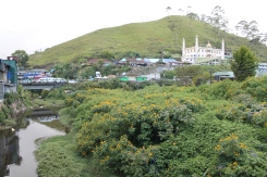 The city of Munnar