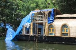 Houseboat repairs.