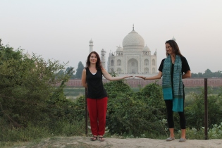 There it is, the Taj Mahal!
